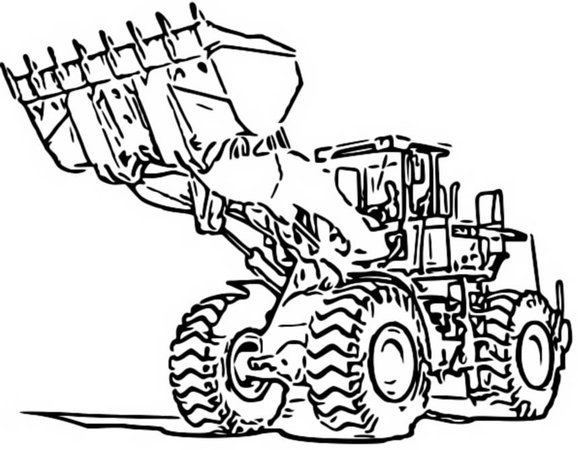 Tractors, Trucks and Diggers